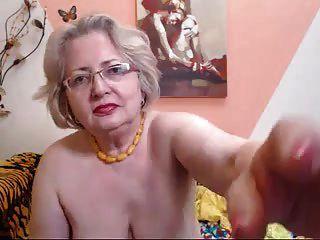Pawg Oma Modell auf Webcam weiß, wie man ihre Arbeit zu tun 69084
