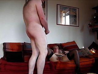 49yo Milf fickt für meine Sperma auf ihren Arsch
