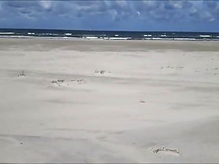 Ausstellungsmacher am Strand
