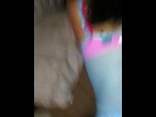 sexy latina gf von hinten gefickt und spritzt
