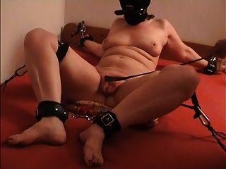 harte Fotze Folter für die Sklavin z