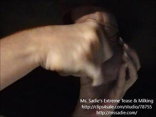 sinnliche necken \u0026 leugnen precum cock melken von ms. Sadie