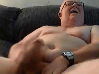 heiße behaarte Döbel Papa mit schönen dicken Schwanz
