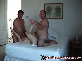 Samt Swinger Club Amateur Lebensstil Paare Frau Swap