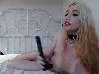 sds Spielzeug ihren Arsch auf Cam
