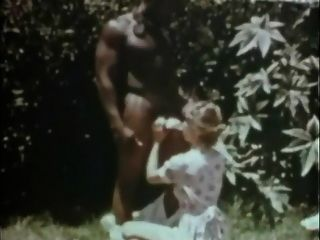 Plantage Liebe Sklave klassisch zwischen verschiedenen Rassen 70er