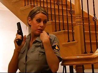 blonde Polizist