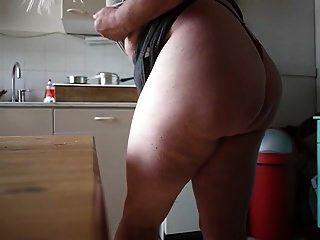 CD zeigt plump Fett Spank Ass und Titties
