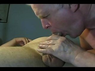 hausgemachte Opa Blowjob ist heiß