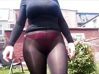 Spandex Engel sexy durchschauen Leggings