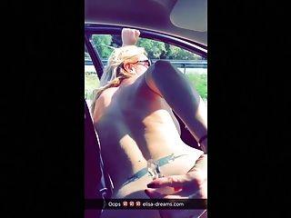 Sex, blinkende und schmutzige Snapchats in Frankreich und Spanien