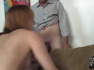 Mann beobachtet seine Frau von BBC gefickt