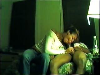 Ebenholz bj und Sperma schlucken