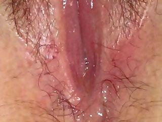 nassen Muschisaft solo