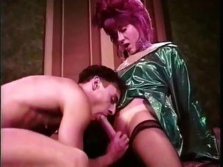 Vintage Torte Trans und ihr Mann