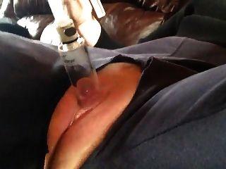 geschwollene Muschi Pumpe Klitoris Orgasmus Kontraktionen