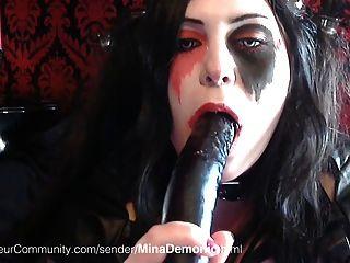 goth schlampe mit fetten titten