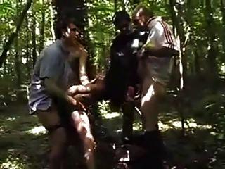 dogging im Wald mit speziellen Ende