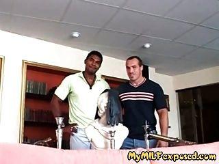 meine Milf ausgesetzt heiße Frau in Strümpfen interracial anal fuck