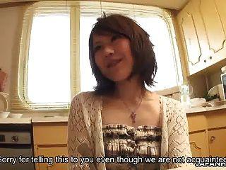 asiatische Mädchen nebenan bekommen gefickt und hart rahm
