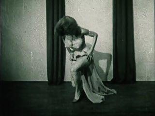 Sturm in einer Tasse Vintage Burleske Striptease 50er Jahre