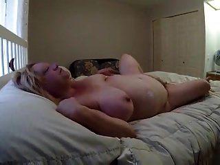 Älteres Paar fucking auf Teppich