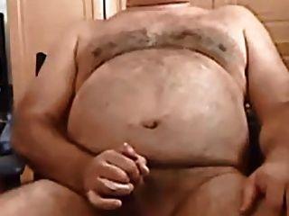 schnelle Sperma von einem Papa behaarten Bär