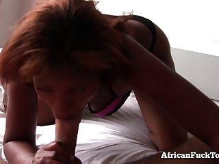 Morgen Sex mit echtem afrikanischen Mädchen!