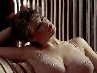 Dessous Tagtraum Vintage 80er große Titten in Strümpfen