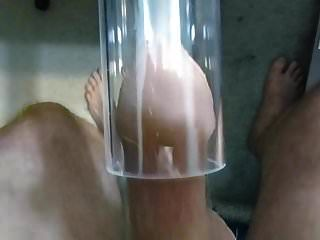 Staubsauger saugen Flattern und Sperma