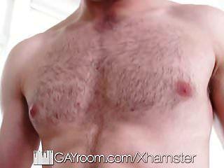 Gayroom enge Beute Injektion in Schlafzimmer Dreier