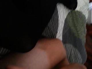 Mister Cums auf meine hübschen Strumpfhosen