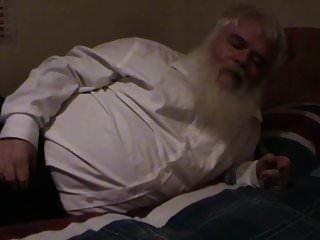 dicker alter mann wichst