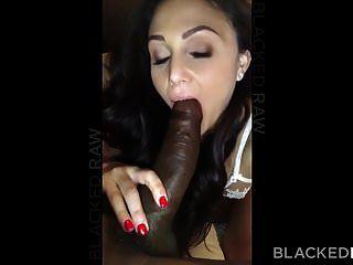 blackedraw verworrene brünette frau liebt schwarzen schwanz in ihrem hotel