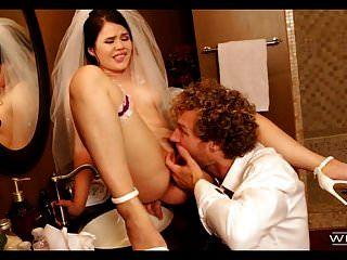 Bester Mann fickt Braut an ihrem Hochzeitstag