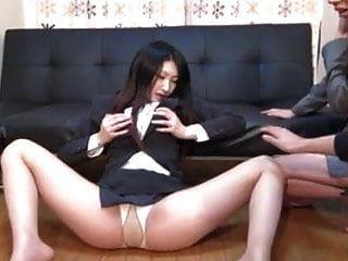 japanische Mädchen hypnotisiert