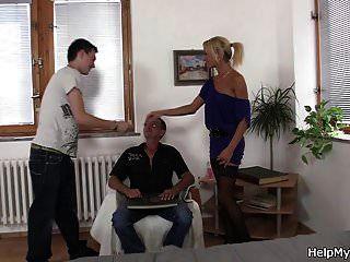 alter tschechischer blonder cuckolds alter mann