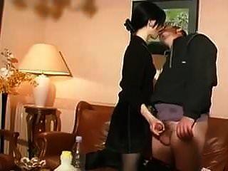 STP Goth wie Tochter genießt einen ganzen Tag mit Papa!