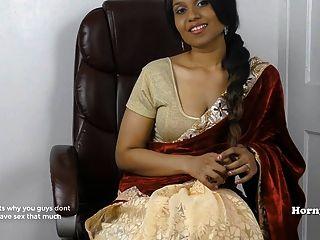 Hornysouth indian Schwägerin Rollenspiel in Tamil mit Subs