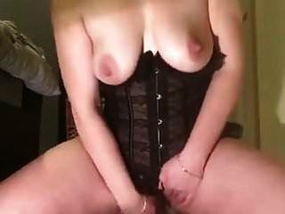 Selfie Cremiger Dildo Orgasmus
