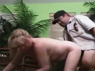 Papa dicker Mann Rojv Sex Schlampe in der Kamera