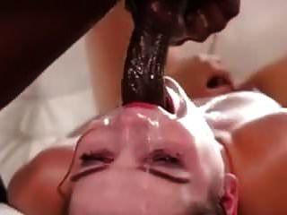 Weißes Mädchen Deep Throat Bbc