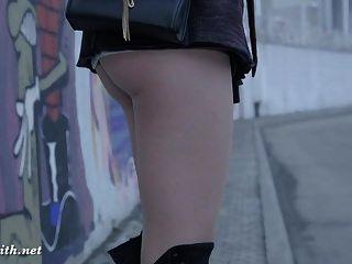 Jeny Smith Strumpfhosen und High Heels Fetisch necken