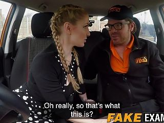 georgie lyall reitet ryan ryder im auto