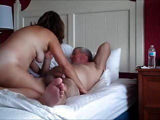 reifes Paar beim Sex