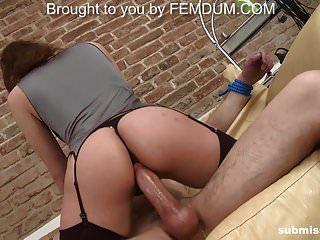 Mal Pegging Ehemann Das erste Ehefrau Porno