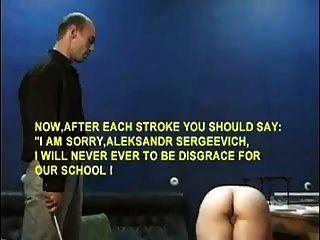 Lehrer schlug bestraft