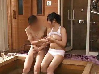 Azusa Nagasawa in Saunadame Besatzung Teil 5