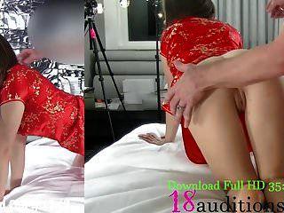 18auditions.com 18yo asiatische Creampie-Zusammenstellung