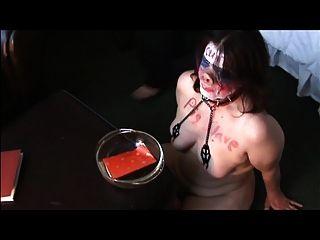 Sklavenfotze Schwein Disziplin